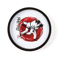 Judo Wall Clock
