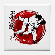 Judo Tile Coaster