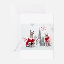 Cute Happy new year Greeting Cards (Pk of 10)