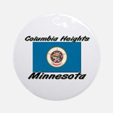 Columbia Heights Minnesota Ornament (Round)