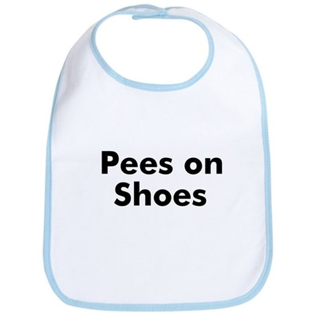 Pees on Shoes Bib