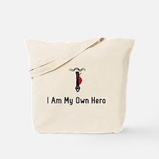 Deep Diving Hero Tote Bag