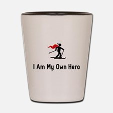 Cross Country Hero Shot Glass