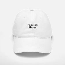 Pees on Shoes Baseball Baseball Cap