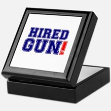 HIRED GUN! Keepsake Box