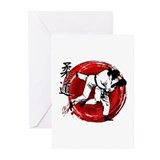 Judo Greeting Cards (10 Pack)