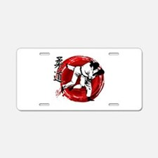 Judo Aluminum License Plate