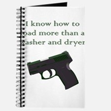 I know how to load more than a washer and Journal