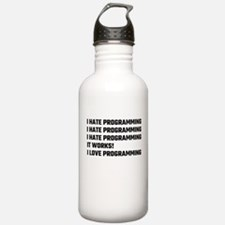I Love Programming Water Bottle