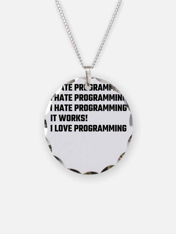 I Love Programming Necklace