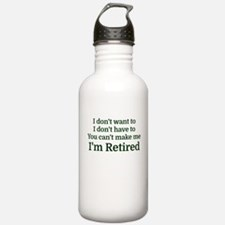I don't want to I don' Water Bottle