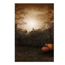 Autumn Stone Fence Postcards (Package of 8)