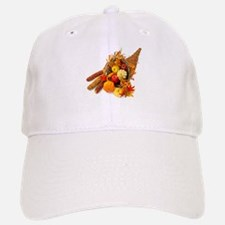 Thanksgiving Cornucopia Baseball Baseball Cap