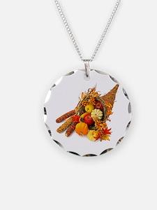 Thanksgiving Cornucopia Necklace