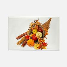 Thanksgiving Cornucopia Rectangle Magnet