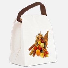 Thanksgiving Cornucopia Canvas Lunch Bag