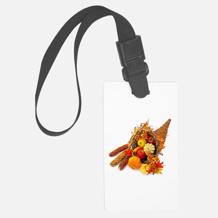 Thanksgiving Cornucopia Luggage Tag