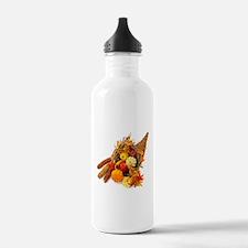 Thanksgiving Cornucopi Water Bottle