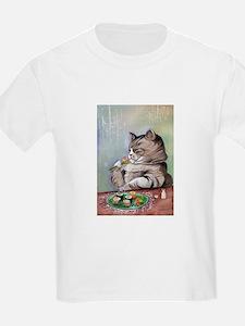 FancyFeastLarge T-Shirt