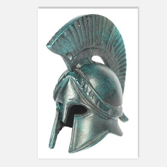 Antique Greek Helmet Postcards (Package of 8)