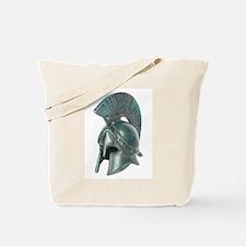 Antique Greek Helmet Tote Bag