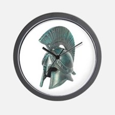 Antique Greek Helmet Wall Clock