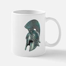 Antique Greek Helmet Mug