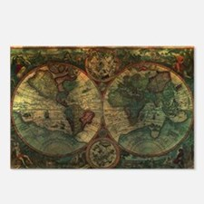 Ancient Map Postcards (Package of 8)