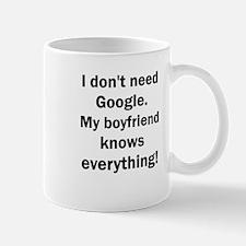 I don't need Google. My boyfriend knows every Mugs
