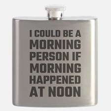 I Could Be A Morning Person Flask