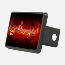 Hot Music Notes Hitch Cover