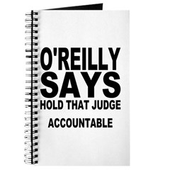 HOLD THAT JUDGE ACCOUNTABLE Journal