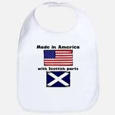 Made In America With Scottish Parts Bib