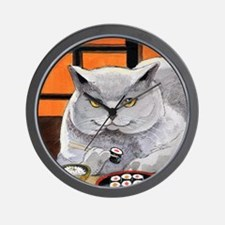 "Sushi Cat ""Big Fred"" Wall Clock"