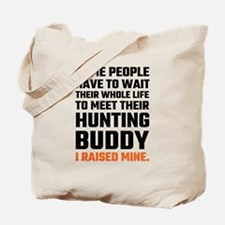 Hunting Buddy Father Son Tote Bag