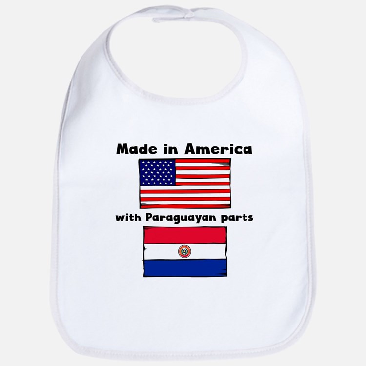 Made In America With Paraguayan Parts Bib