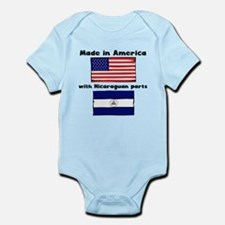 Made In America With Nicaraguan Parts Body Suit