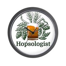 Hopsologist Wall Clock