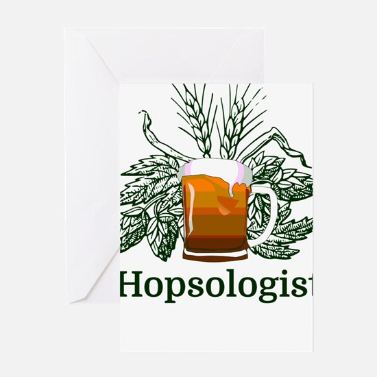 Hopsologist Greeting Cards