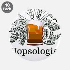 "Hopsologist 3.5"" Button (10 pack)"