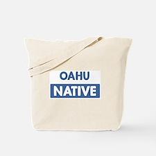 OAHU native Tote Bag