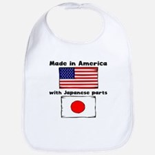Made In America With Japanese Parts Bib