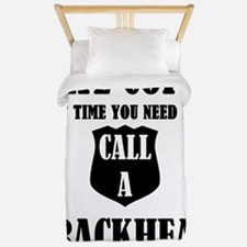 Hate Cops?Next Time You Need Help Call Twin Duvet