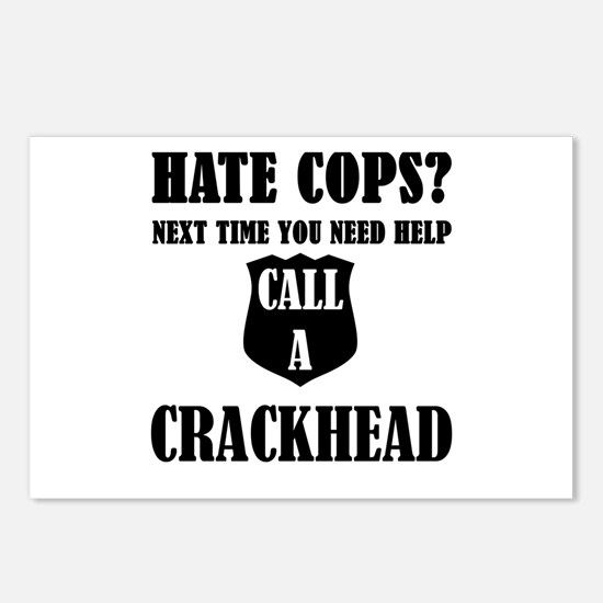 Hate Cops?Next Time You N Postcards (Package of 8)