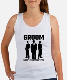 Groom Support Crew Tank Top