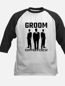 Groom Support Crew Baseball Jersey