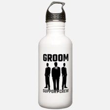 Groom Support Crew Water Bottle