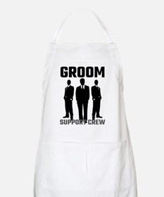 Groom Support Crew Apron