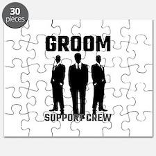 Groom Support Crew Puzzle