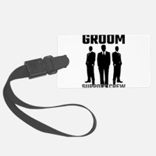Groom Support Crew Luggage Tag